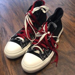 Converse All Star hi Top Sneakers size 8
